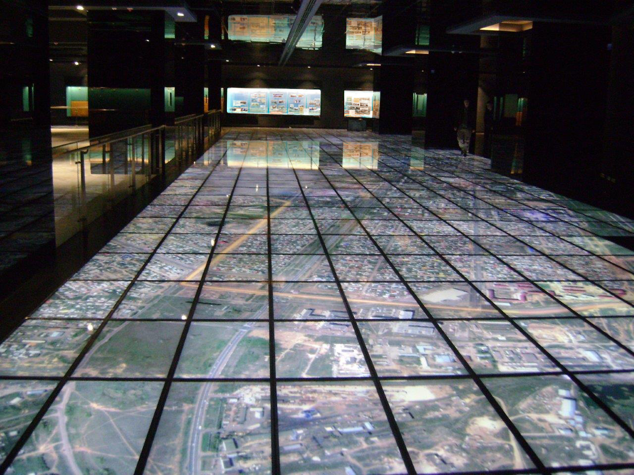GDS World's largest Floor Display installation - Astana