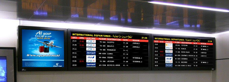 Hurghada Airport To Install Hantarex Led Boards